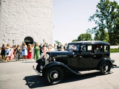 Gjør din anledning spesiell med klassiske biler fra Veteransjåføren