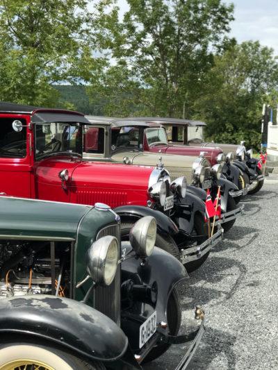 Klassiske biler fra Veteransjåføren