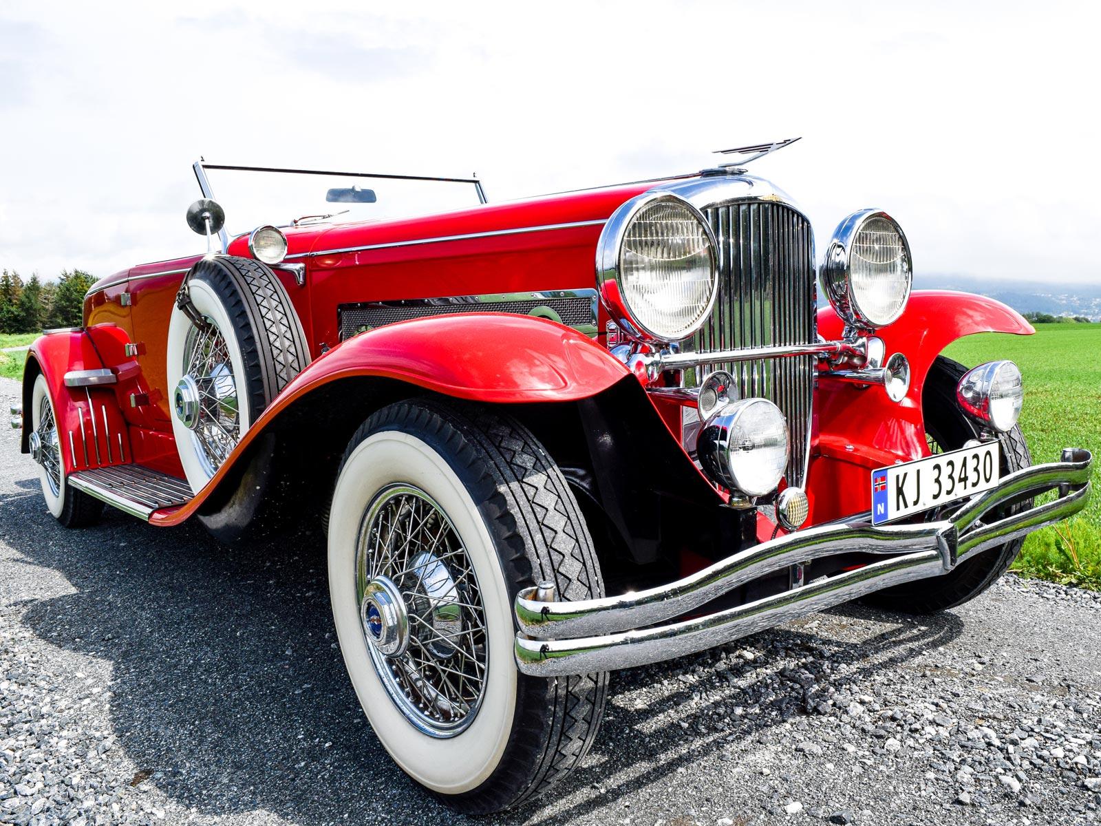 Dusenberg 1932 modell.