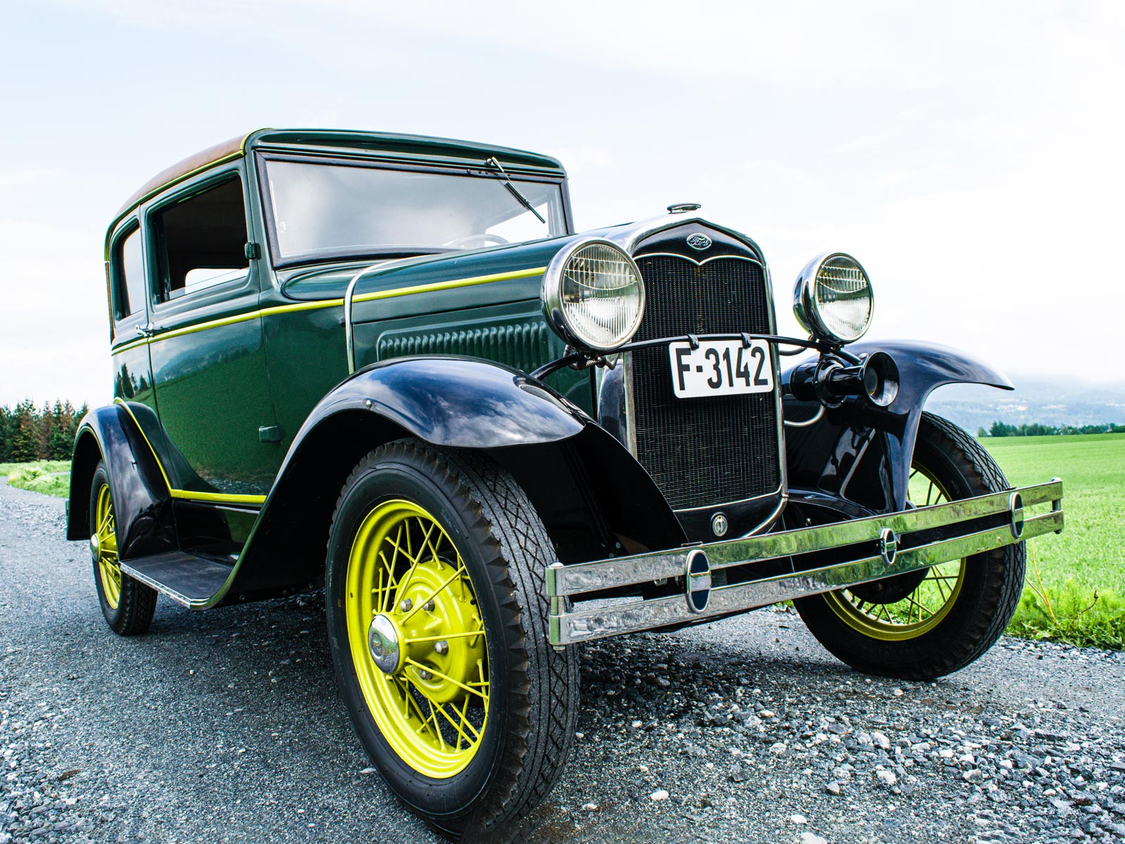 Ford A Victoria Coupe 1931 modell.