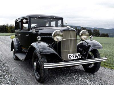 Ford B 1932 4-dørs Sedan