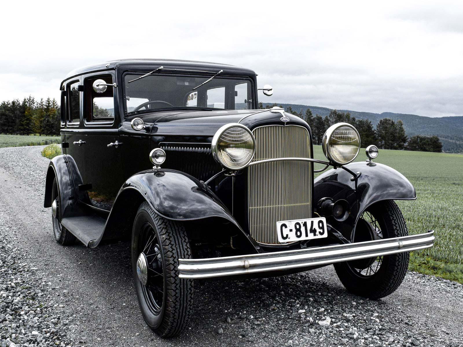 Ford B Sedan 1932 modell.