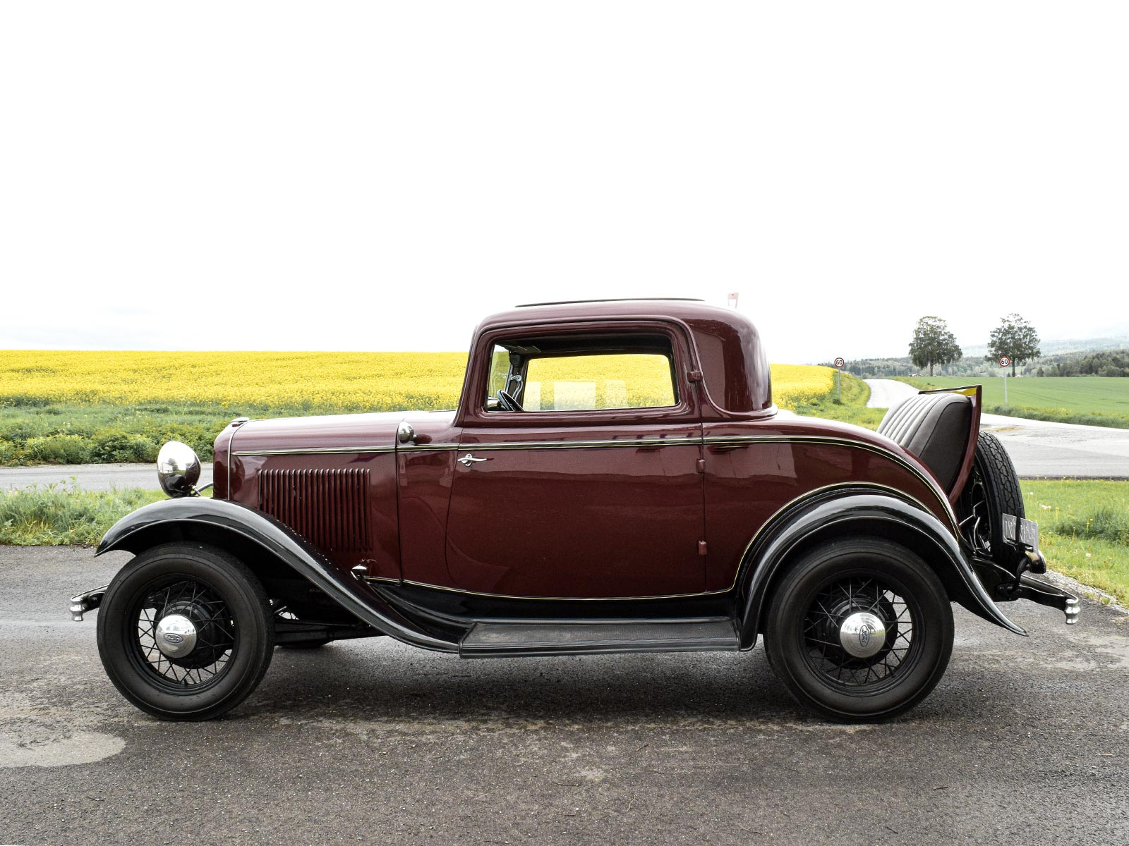 Ford B Coupe 1932 modell.