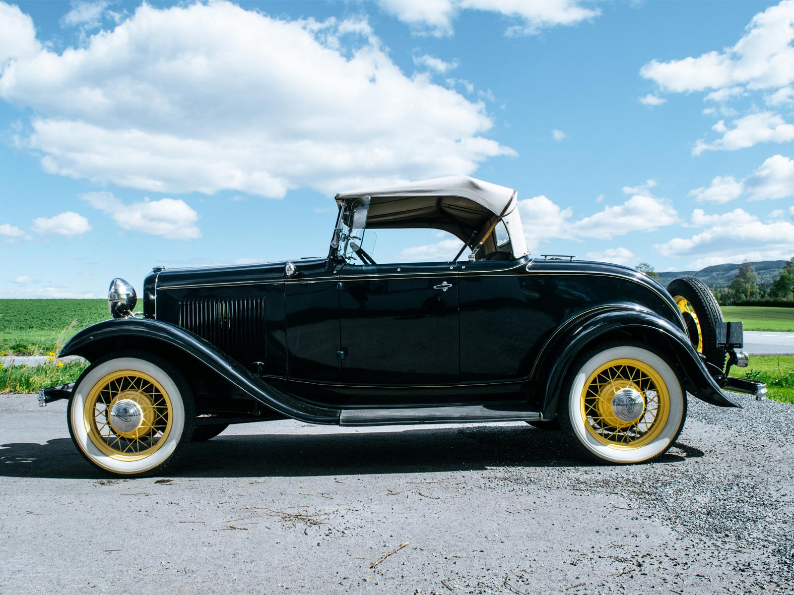 Ford B Roadster 1932 modell.