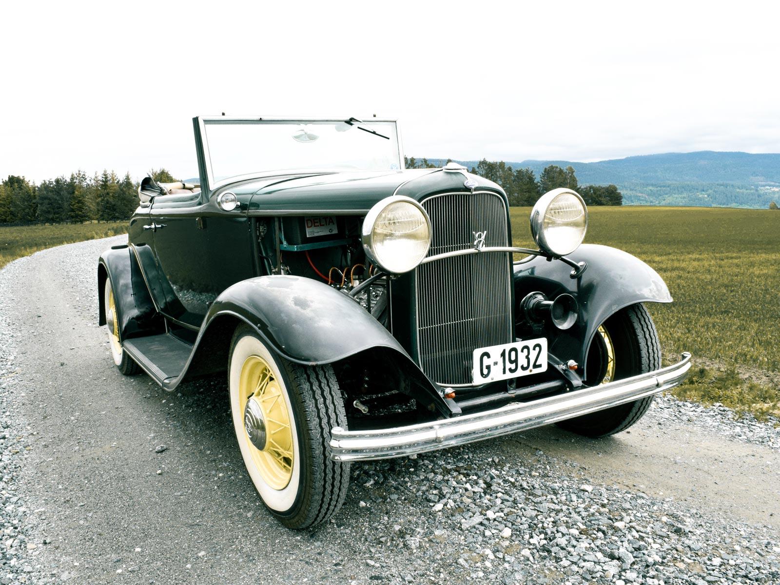Ford B V8 Cabriolet 1932 modell.
