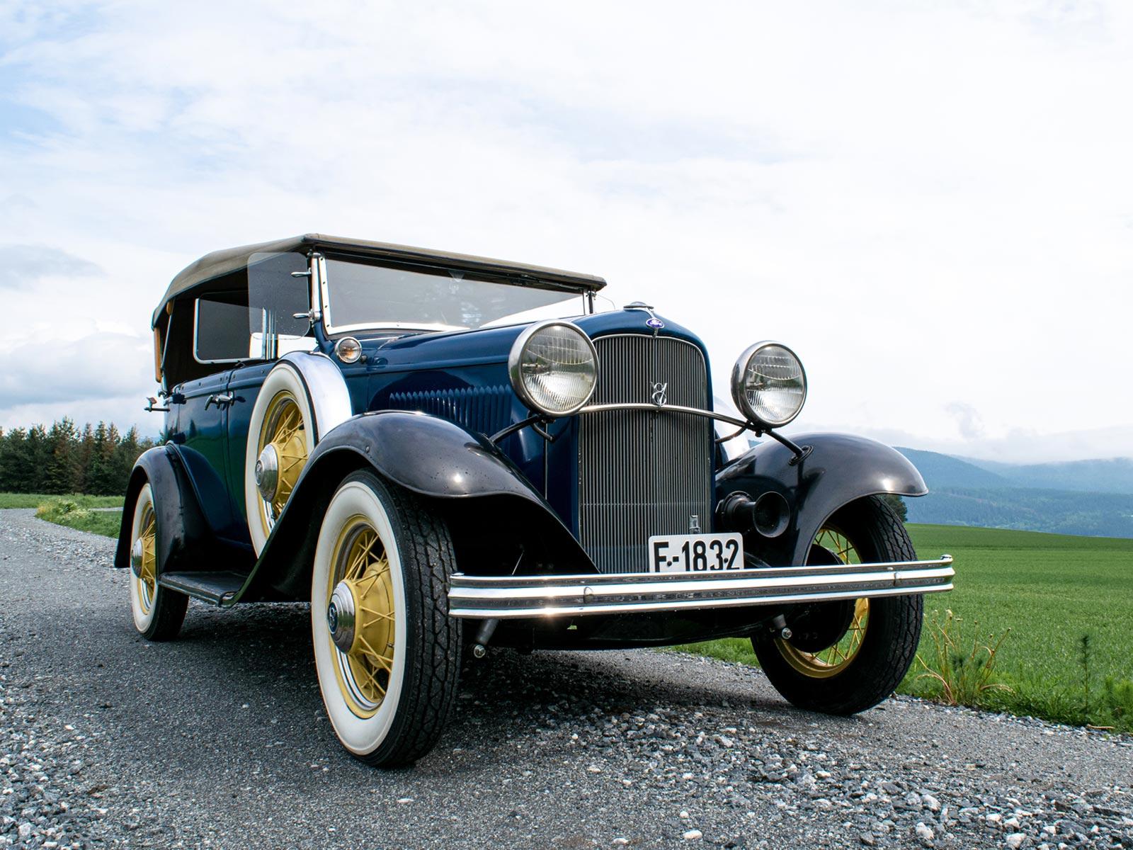 Ford B V8 Phaeton 1932 modell.