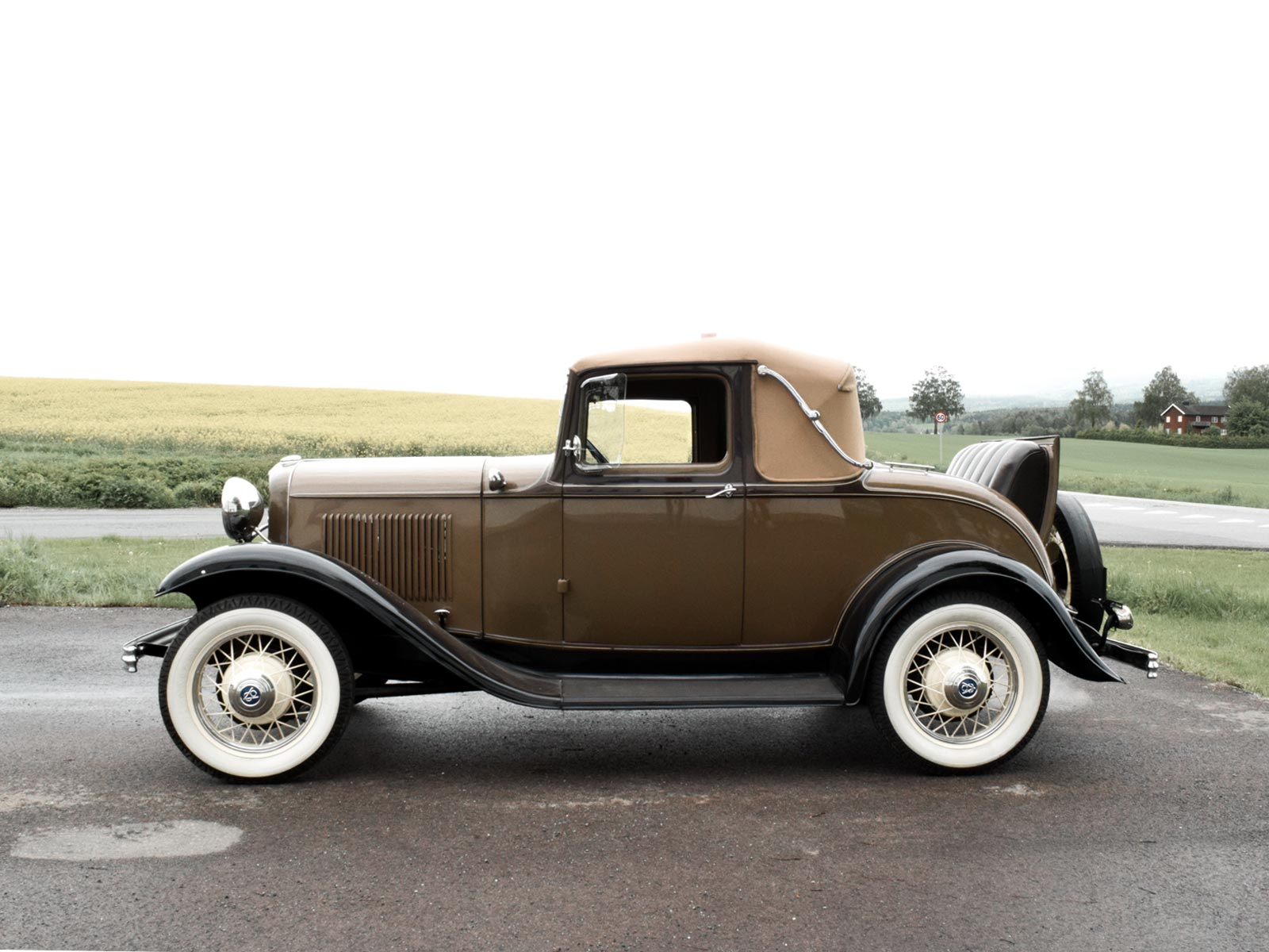 Ford B Sport Coupe 1932 modell.