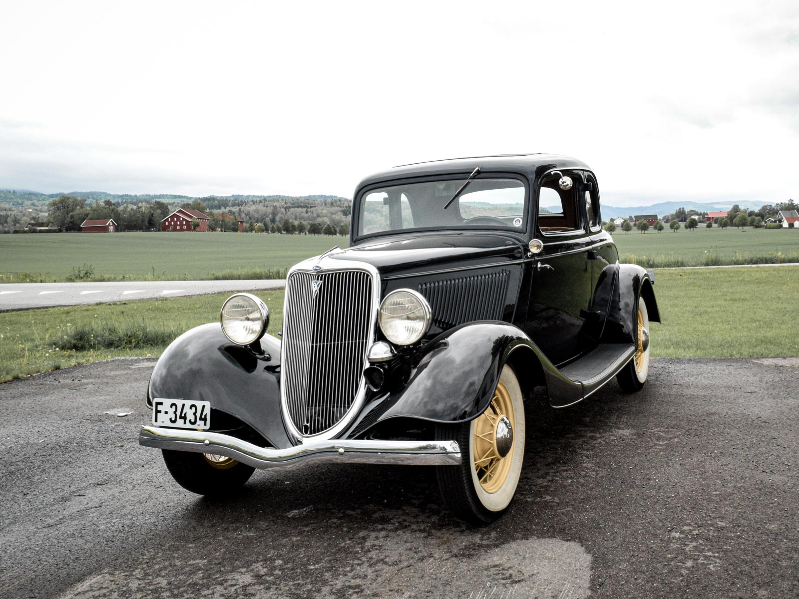 Ford B V8 Coupe 1934 modell.